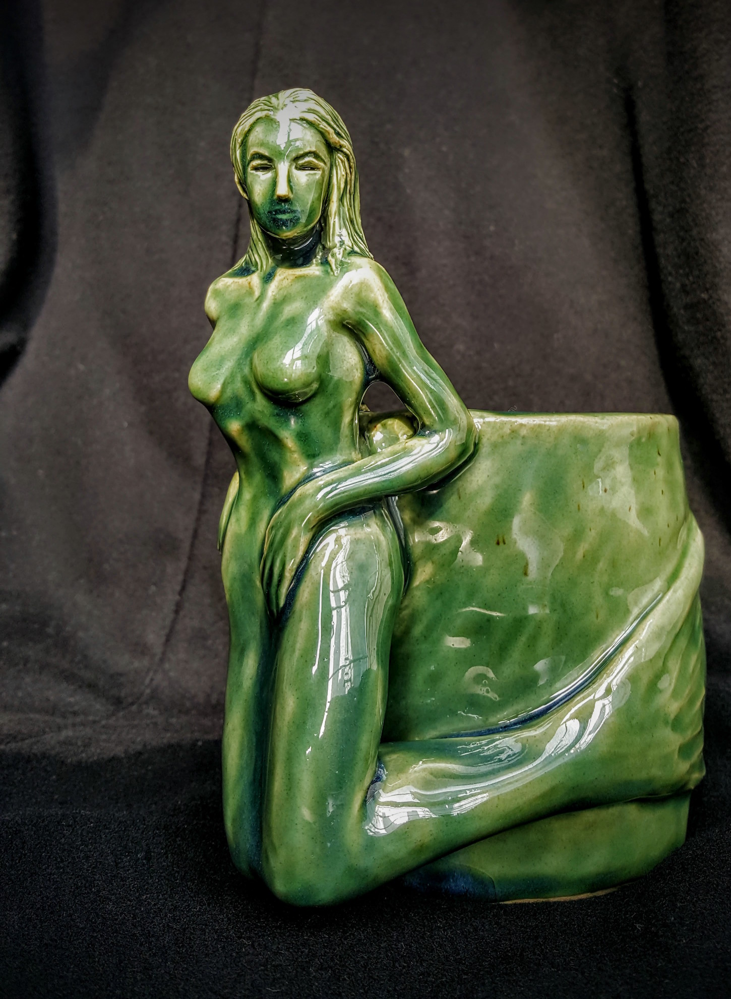 emerald mermaid front