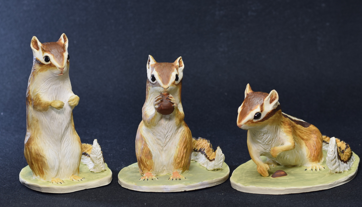 Chipmunk Trio