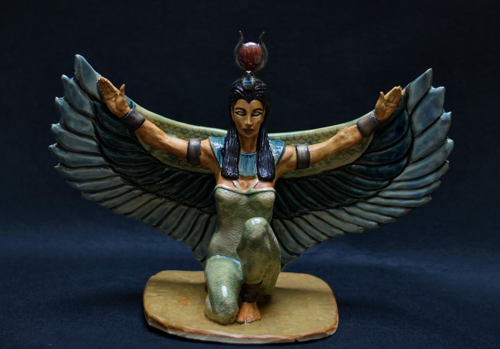 Isis Egyptian Goddess