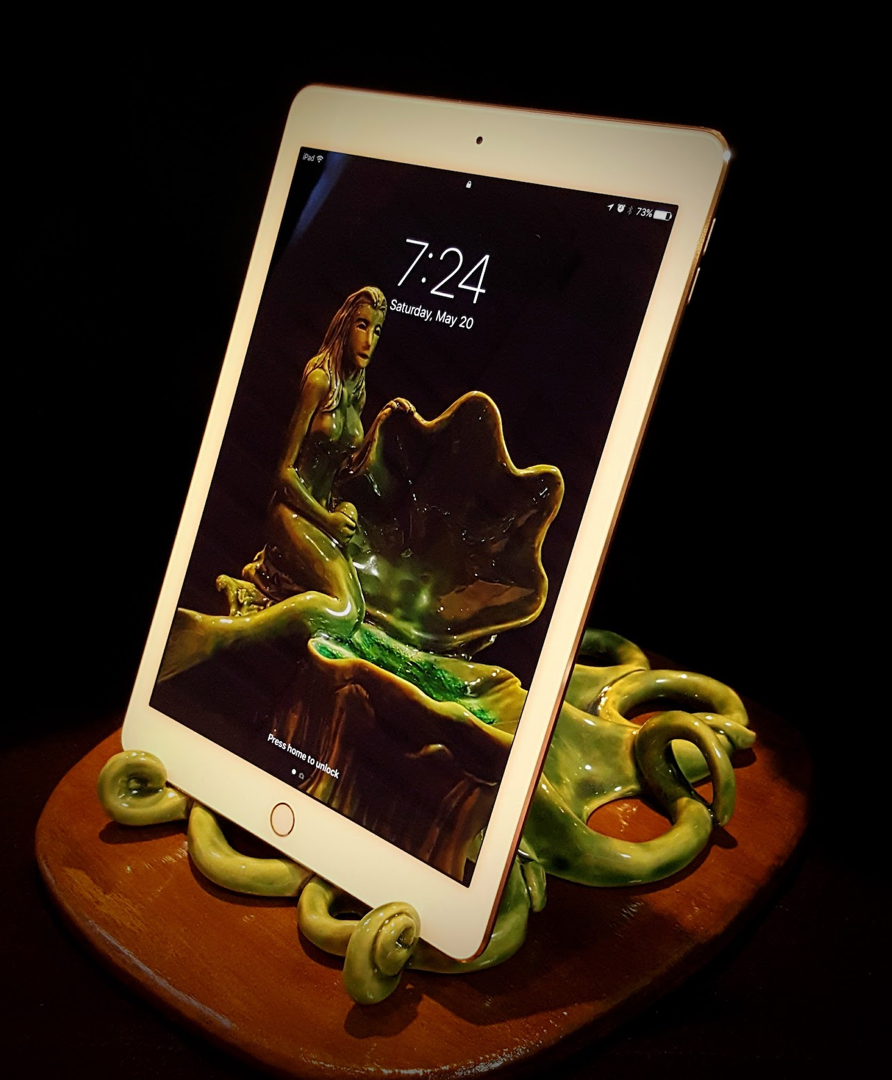 Octopus iPad Holder