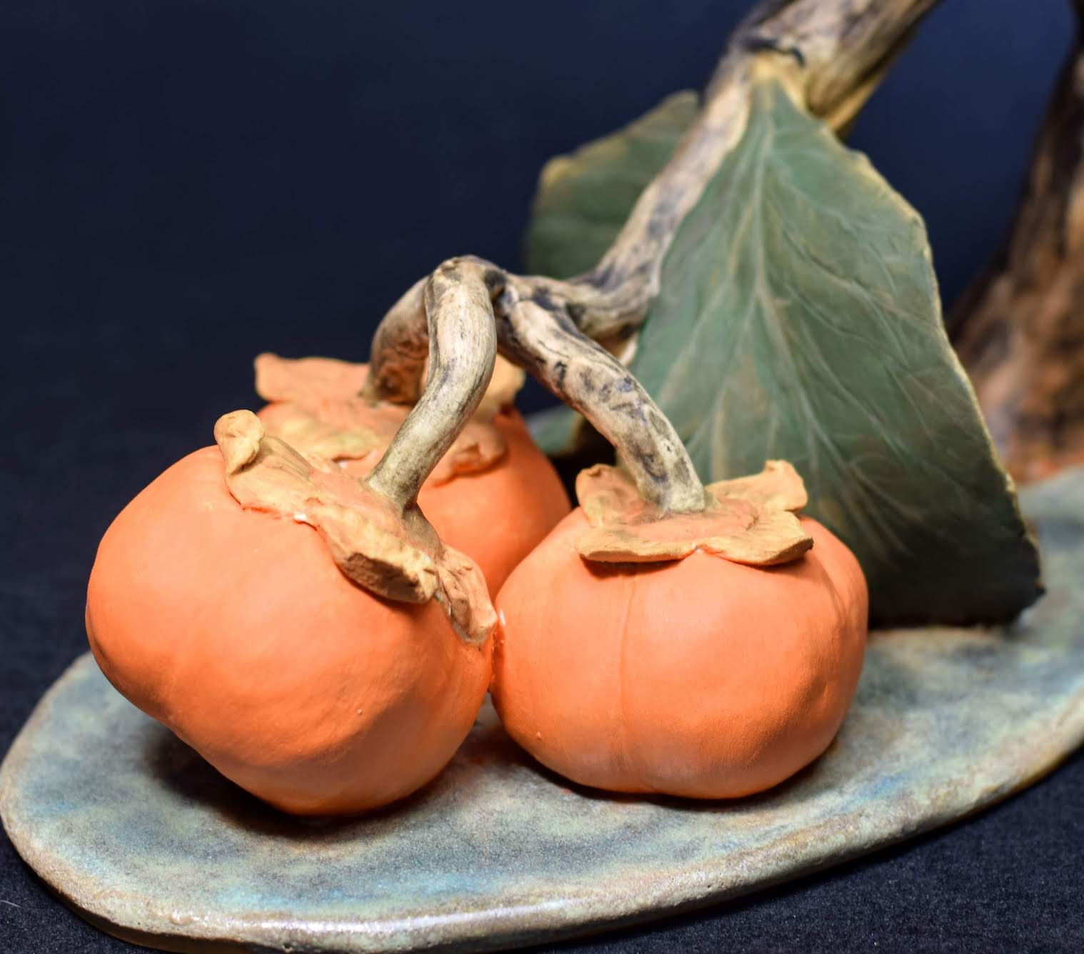 Magpie and Persimmons